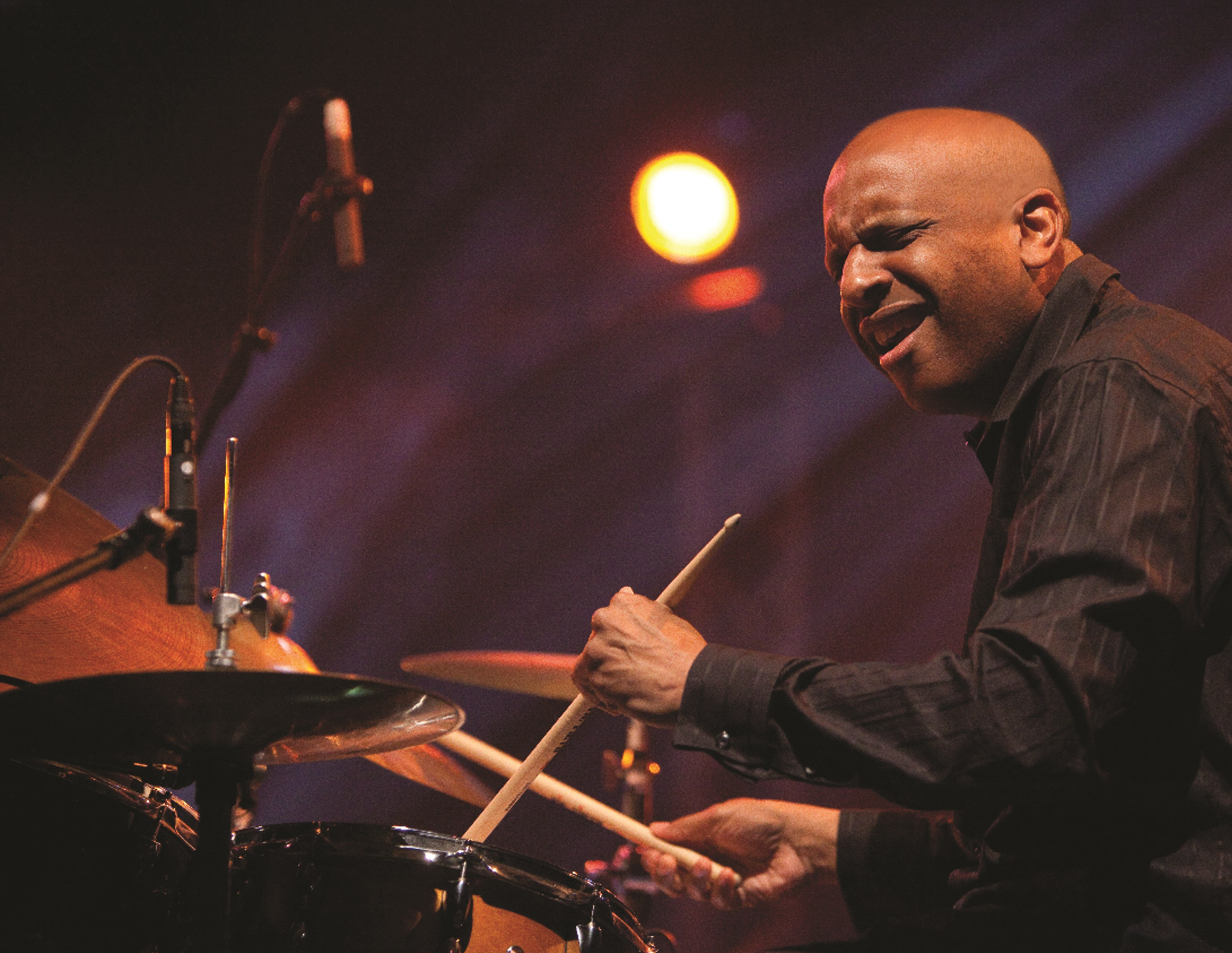 Billy Drummond, drums