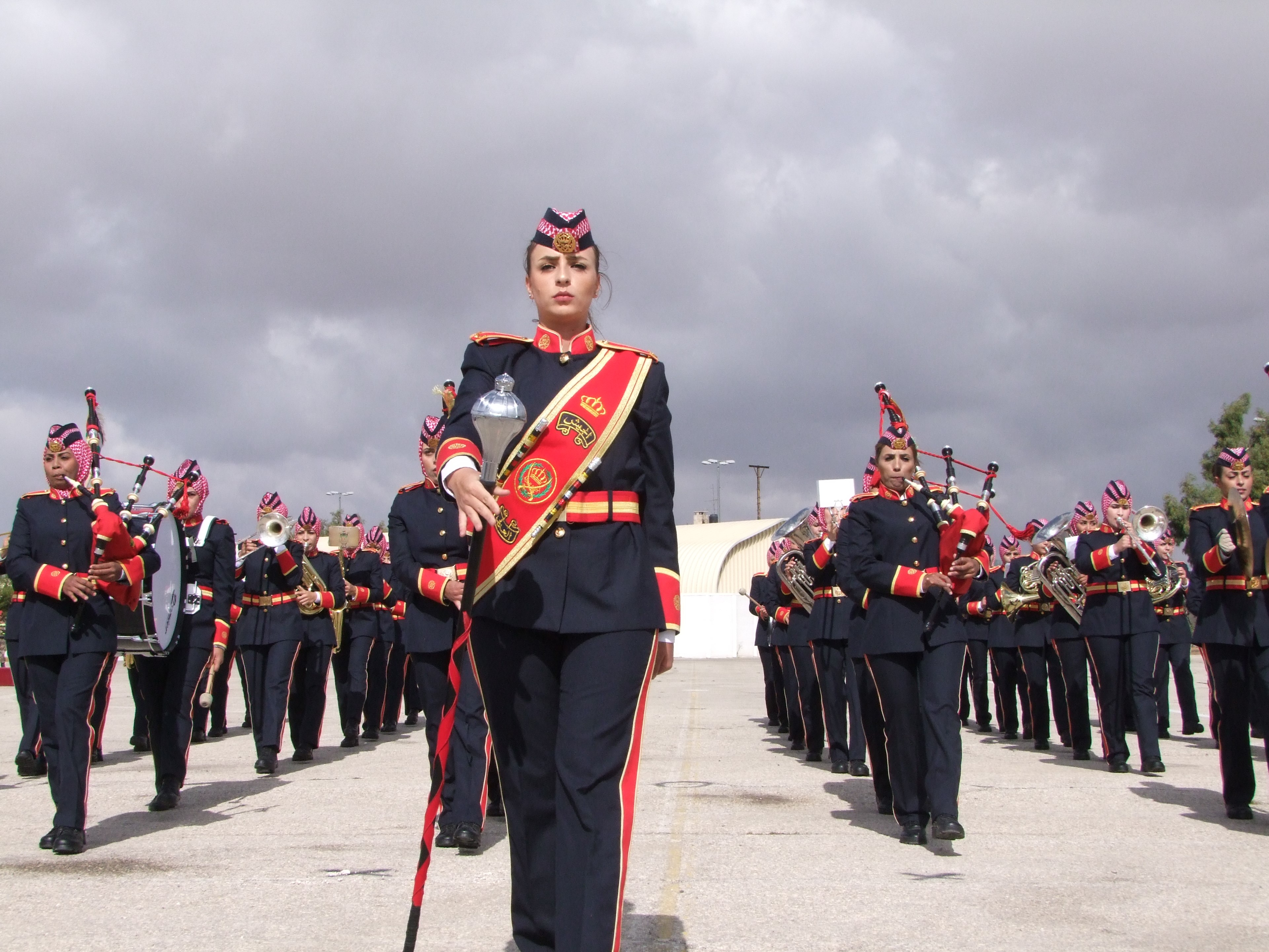 <b>Jordanian Armed Forces Combined Pipe Band</b><br>