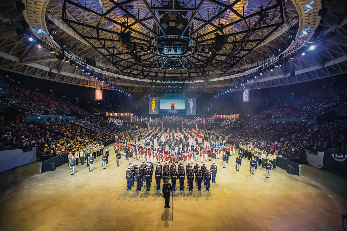 Virginia International Tattoo – TURN ON THE TAPS – Virtual Events