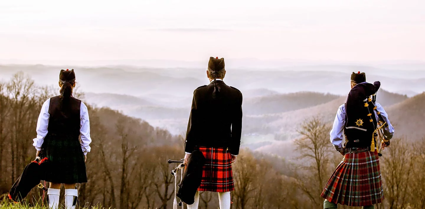 <b>The Appalachian Piping Academy, located in the Roanoke Valley, offers a high standard of instruction in Highland Piping and Drumming. Their instructors are committed to sharing the Celtic arts with the western region of Virginia. 