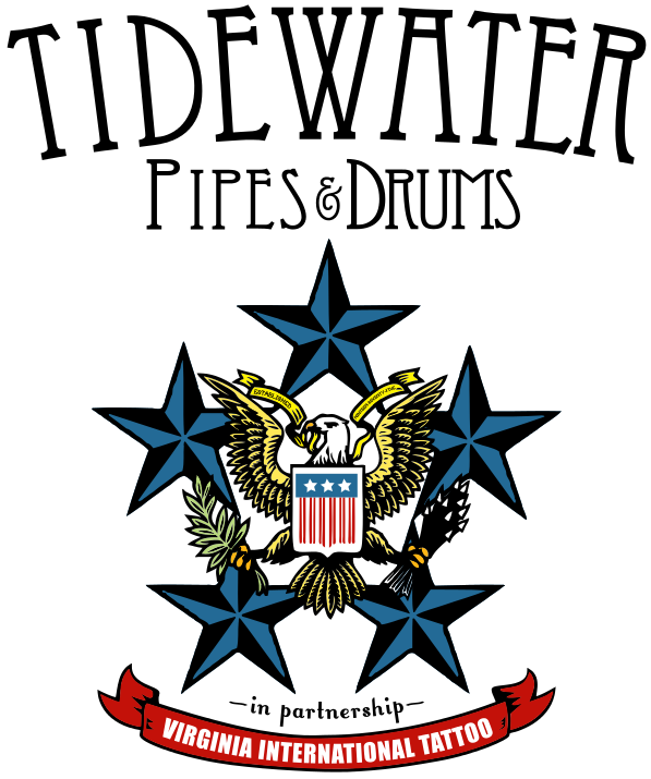 <b>Formed in 1975 Tidewater Pipes and Drums has maintained a roster of active pipers and drummers from across Hampton Roads who perform in a variety of annual events. Their members continue to rise up the ranks in competition and their first performance wearing their new Virginia International Tattoo Hixon kilt will be at the 2021 Virginia International Tattoo!