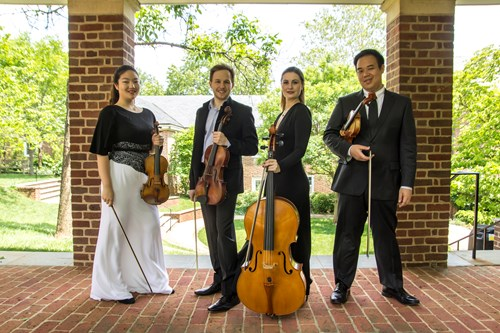Coffee Concert II:  <br> Jinjoo Cho, violin <br> Eric Wong, violin <br> Fitz Gary, viola <br> Madeline Fayette, cello
